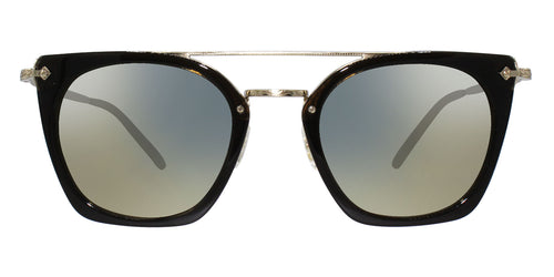 Oliver Peoples Dacette Green Gold / Gray Lens Sunglasses
