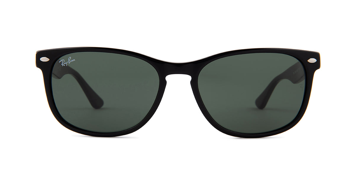 Ray Ban - RB2184 Black/Green Square Unisex Sunglasses - 57mm