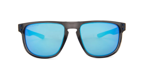 Oakley - Holbrook R Gray/Blue Square Unisex Polarized Sunglasses - 55mm