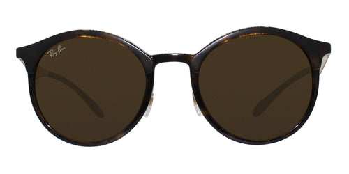 Ray Ban - RB4277 Tortoise Oval Unisex Sunglasses - 51mm