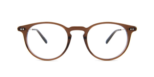 Oliver Peoples Ryerson Brown / Clear Lens Eyeglasses