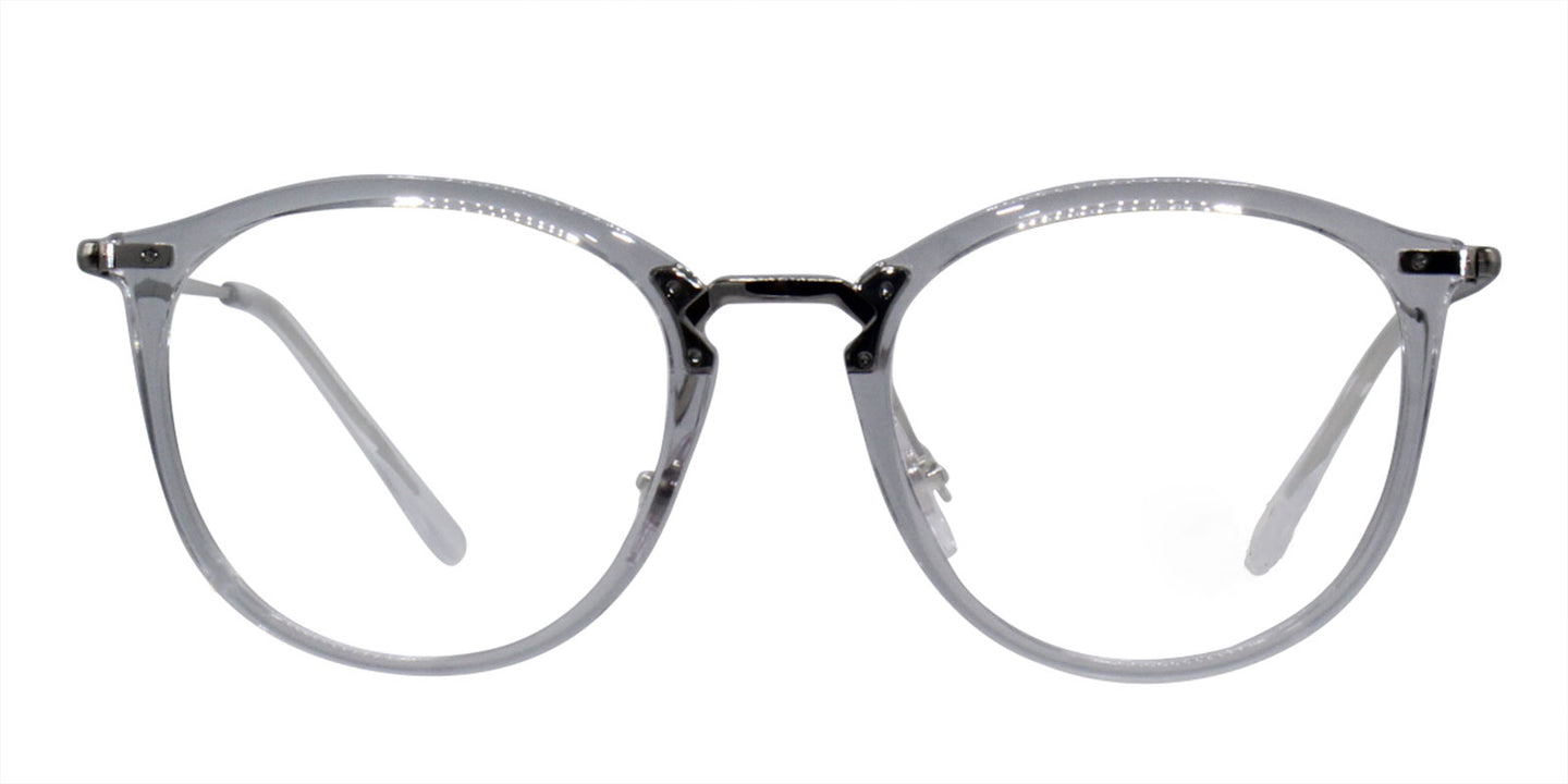 Ray Ban Rx - RX7140 Clear Oval Unisex Eyeglasses - 51mm
