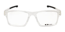 Oakley - Chamfer 2 Clear/Clear Rectangular Unisex Eyeglasses - 52mm