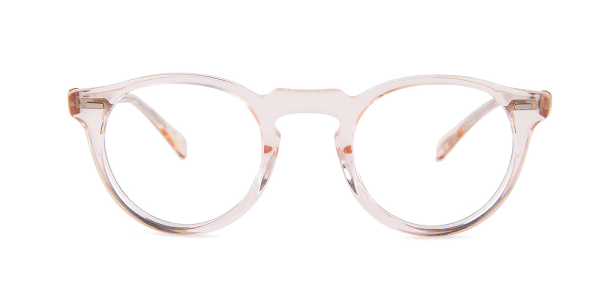 Oliver Peoples Gregory Peck Pink / Clear Lens Eyeglasses