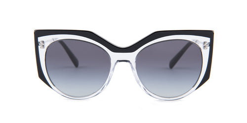 Valentino VA4033 Black / Smoke Lens Sunglasses