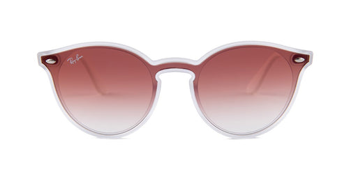 Ray Ban RB4380-N Clear / Pink Lens Sunglasses