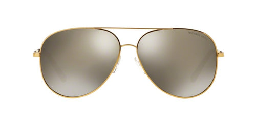 Michael Kors Kendall Gold / Bronze Lens Mirror Sunglasses