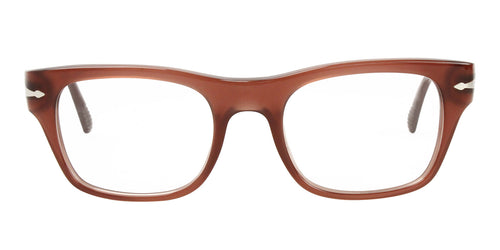 Persol - PO 3070V Red Rectangular Unisex Eyeglasses - 52mm