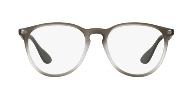 Ray Ban Rx - RX7046 Gray Square Unisex Eyeglasses - 51mm