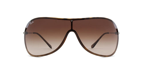 Ray-Ban RB4411 Havana / Brown Lens Sunglasses