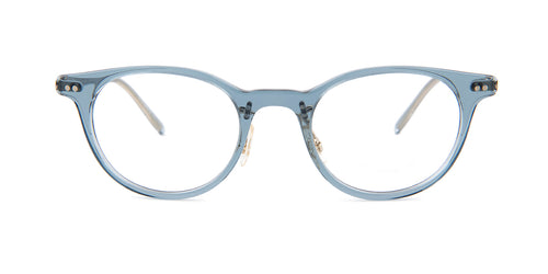 Oliver Peoples Elyo Blue / Clear Lens Eyeglasses