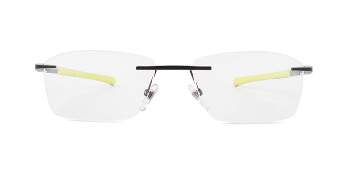 Starck SH2036 Black / Clear Lens Eyeglasses