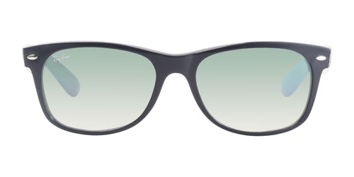 Ray Ban - RB2132 Black Rectangular Unisex Sunglasses - 55mm