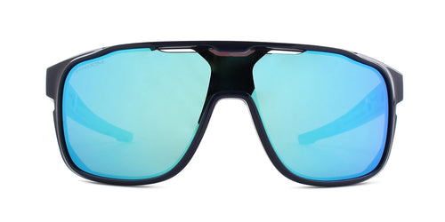 Oakley - Crossrange Shield Navy/Sapphire Shield Men Sunglasses - 31mm