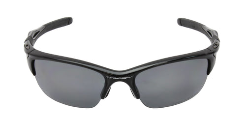 Oakley - Half Jacket 2.0 Black/Gray Rectangular Men Polarized Sunglasses - 62mm