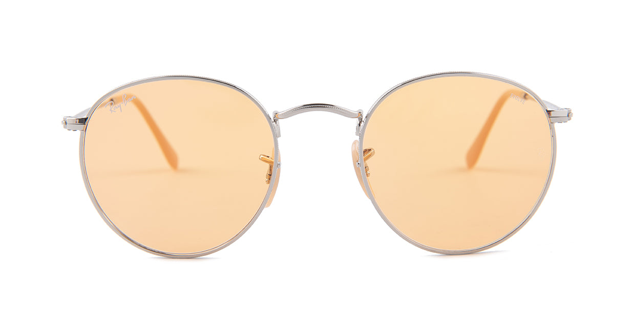 Ray-Ban RB3447 Silver / Orange Lens