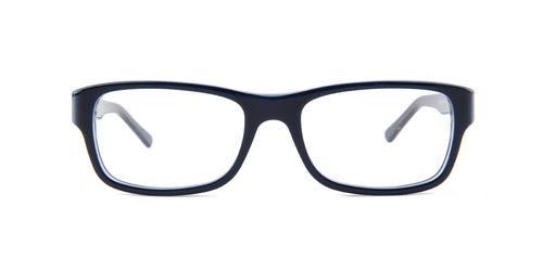 Ray Ban Rx - RX5268 Blue Rectangular Unisex Eyeglasses - 52mm