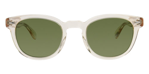 Oliver Peoples Sheldrake Yellow / Green Lens Sunglasses