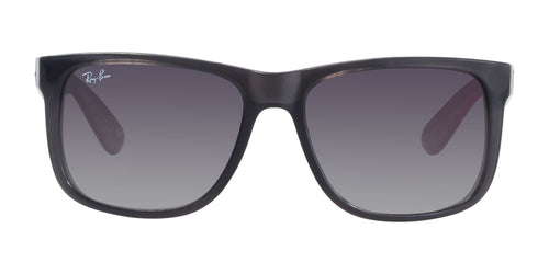 Ray Ban - RB4165 Gray Rectangular Unisex Sunglasses - 54mm