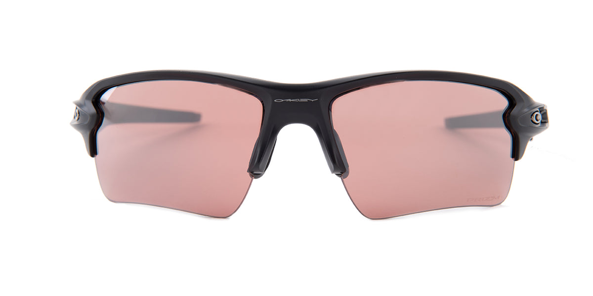 Oakley - Flak 2.0XL Black/Pink Semi-Rimless Women Polarized Sunglasses - 59mm