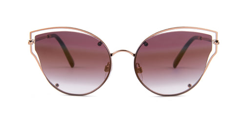 Valentino - VA2015 Rose Gold  Women Sunglasses - 58mm