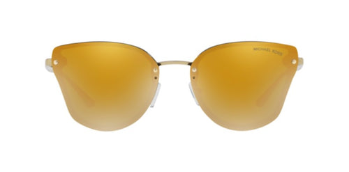 Michael Kors Sanibel Gold / Gold Lens Mirror Sunglasses