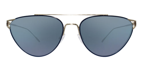 Oliver Peoples Floriana Gold / Blue Lens Sunglasses