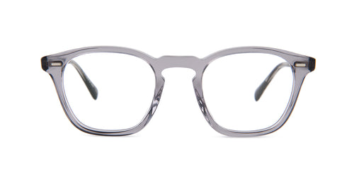 Oliver Peoples Elerson Gray / Clear Lens Eyeglasses