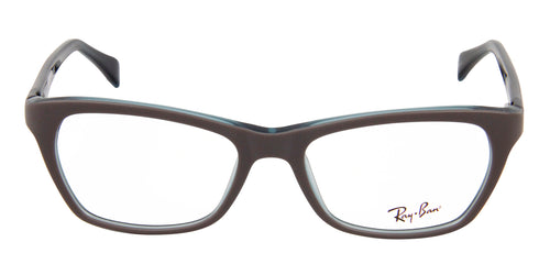 Ray Ban Rx - RX5298 Gray Rectangular Women Eyeglasses - 53mm