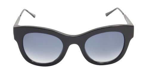 Thierry Lasry - Leggy Black Oval Women Sunglasses - 52mm