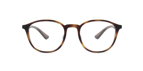 Ray Ban Rx - RX7156 Havana Square Unisex Eyeglasses - 51mm