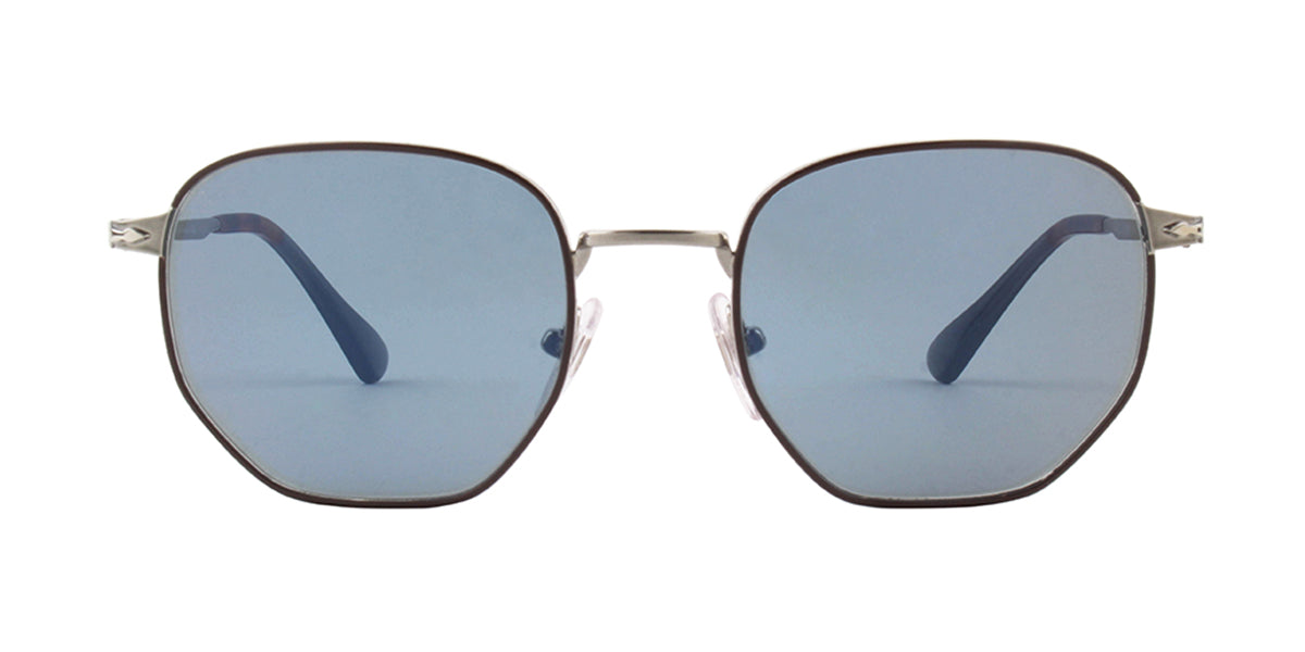 Persol - PO2446-S Brown Square Unisex Sunglasses - 52mm