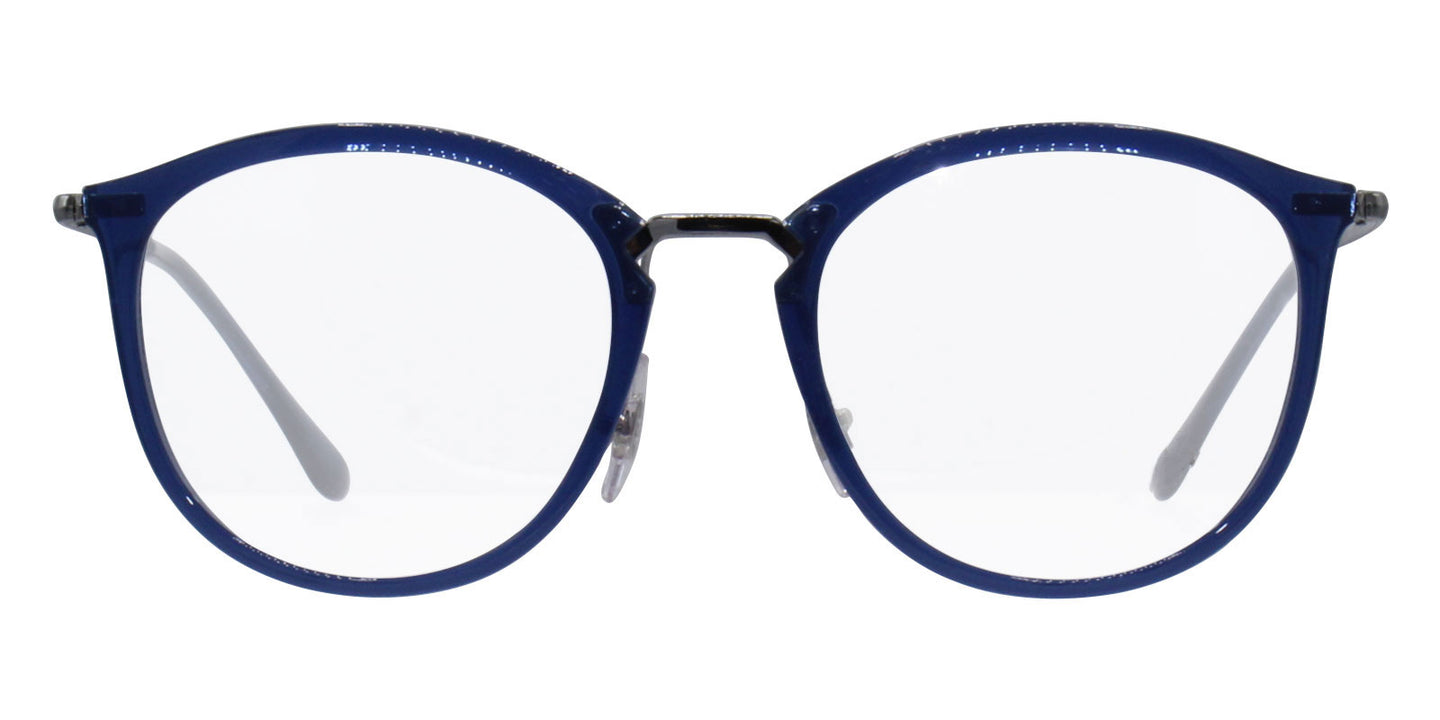 Ray Ban Rx - RB7140 Blue Oval Unisex Eyeglasses - 51mm