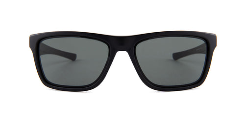 Oakley - Holston Black/Gray Square Men Sunglasses - 58mm