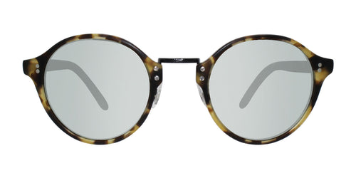 Oliver Peoples OP-1955 Tortoise / Green Lens Mirror Sunglasses