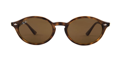 Ray Ban - RB4315 Havana Oval Unisex Sunglasses - 51mm