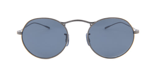 Oliver Peoples M-4 30th Silver / Blue Lens Sunglasses