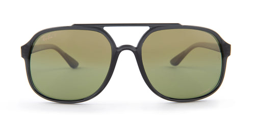 Ray-Ban RB4312-CH Gray / Green Lens Mirror Polarized