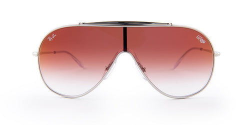 Ray-Ban RB 3597 Silver / Red Lens