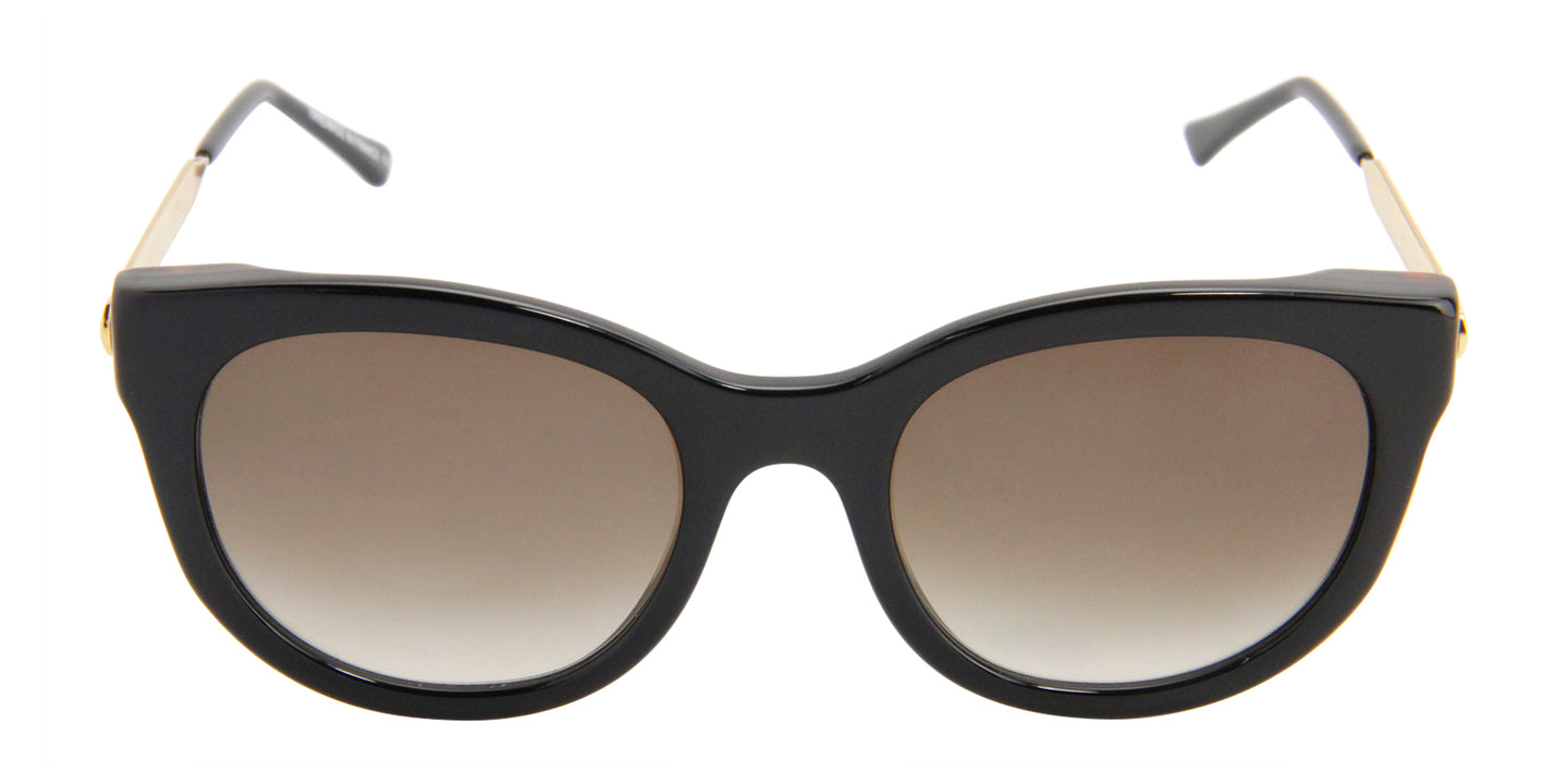 Thierry Lasry - Lively Black Cat-Eye Women Sunglasses - 56mm