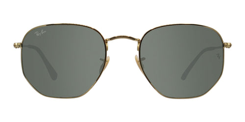 Ray Ban - RB3548 Gold/Blue Mirror Oval Unisex Sunglasses - 54mm