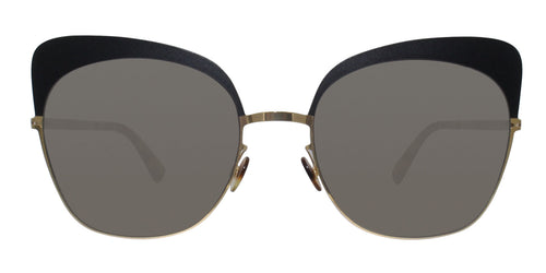 Mykita - Anneli Gold/Gray Butterfly Women Sunglasses - 56mm