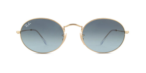 Ray-Ban RB3547 Gold / Gray Lens Sunglasses