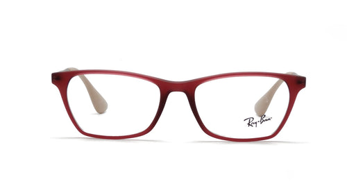 Ray Ban Rx - RB7053 Purple Square Women Eyeglasses - 52mm