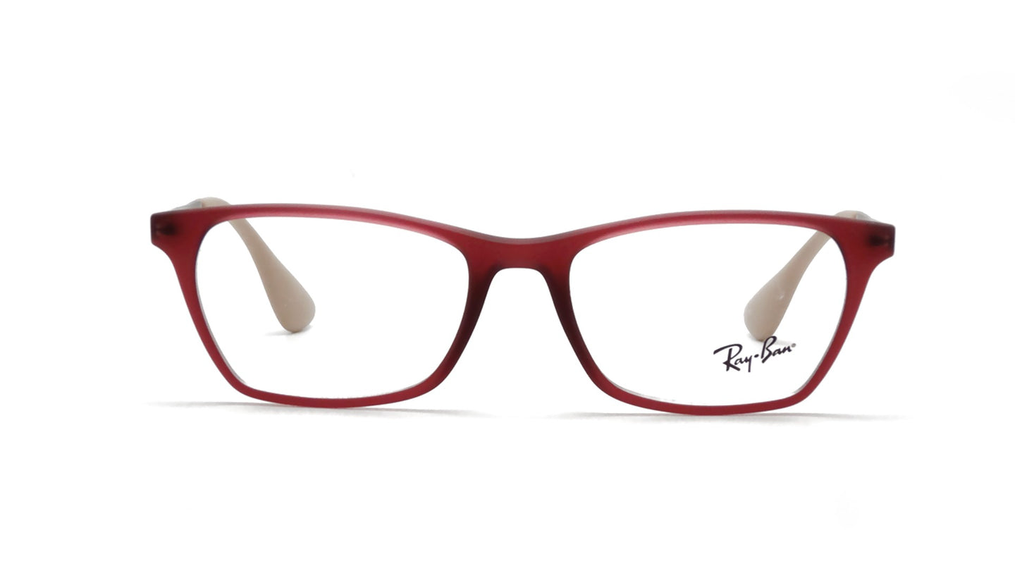 Ray Ban Rx - RX7053 Purple Square Women Eyeglasses - 52mm