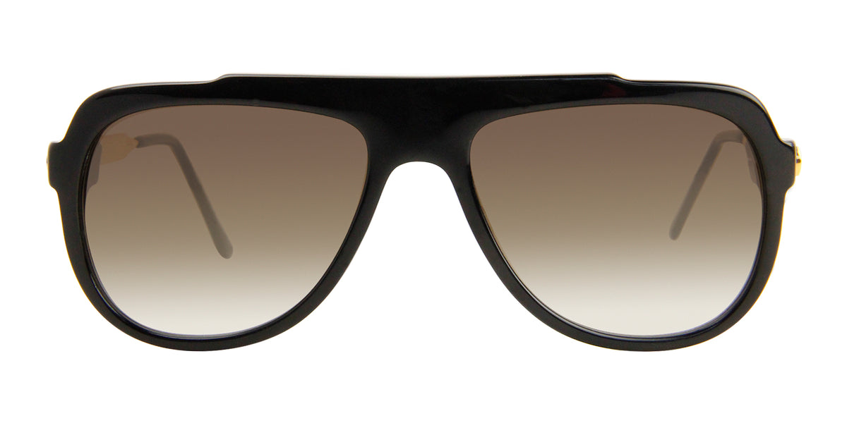 Thierry Lasry - Majesty Black Aviator Women Sunglasses - 57mm