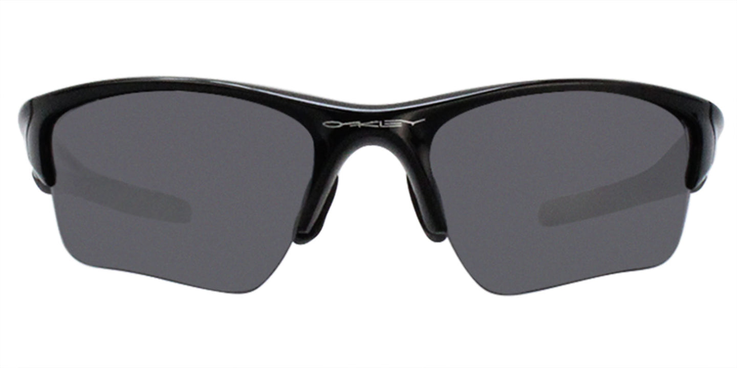 Oakley - Half Jacket Black/Gray Rectangular Men Sunglasses - 62mm