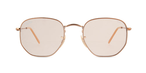 Ray Ban - RB3548N Bronze Square Women Sunglasses - 51mm