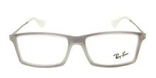 Ray Ban Rx - RX7021 Clear Rectangular Unisex Eyeglasses - 52mm