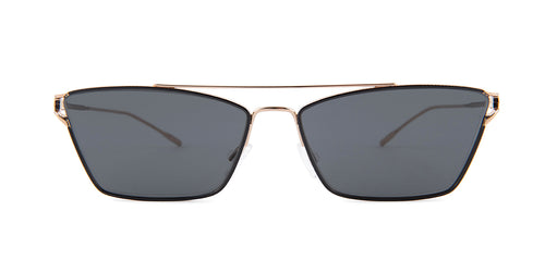 Oliver Peoples Evey Black / Gray Lens Sunglasses